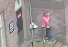 Imagen Follando en el centro de Amsterdam