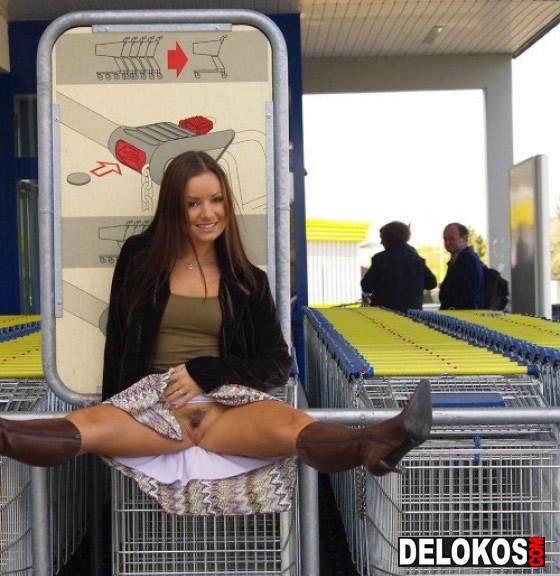fotos mujeres exhibicionistas, sexo bizarro, coños, conejos calientes, conejo, lidl, supermercado