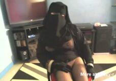 Imagen Sexy chica arabe con niqab