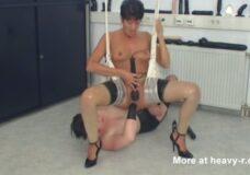 Imagen Columpio del sexo con dos lesbianas alemanas
