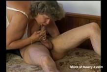 Follando a una gorda vieja alemana