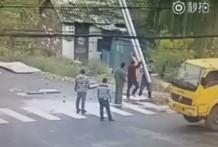 Tres muertos con una sola descarga eléctrica