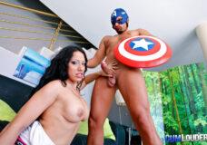 Imagen El Capitán America, el primer follador