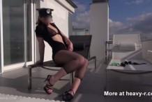 Orgasmo con las quemaduras de un cigarro
