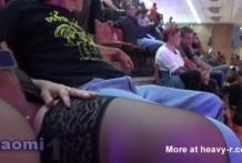 Sexo en el estadio de futbol