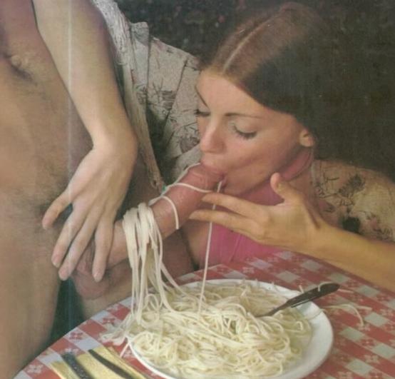 La pasta se come mejor con carne