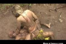 Porno con guerreros del amazona