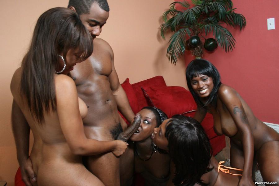tetonas negras orgia bisexual