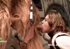 Imagen Chewbacca pillado masturbándose