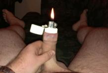 Quién me pidió fuego para un cigarro ?