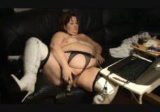 Imagen Mega Gorda por la webcam