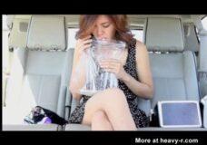 Imagen Borrachas vomitando en los coches