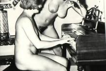 Extremas fotos porno vintage en blanco y negro