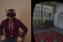 Sexo con Gafas de Realidad Virtual, Striptease