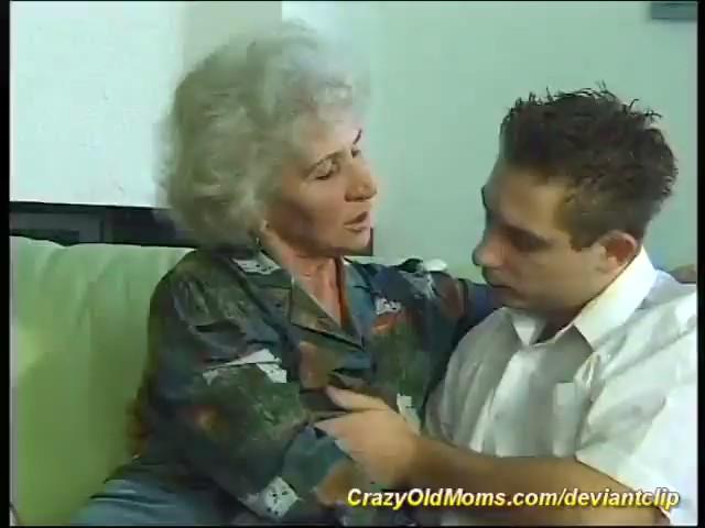 Abuela follando con chico joven