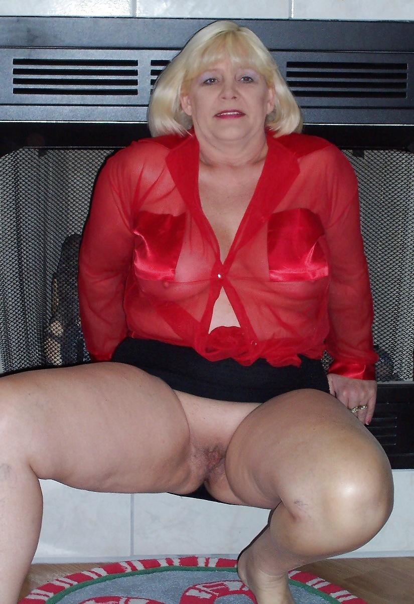 Fotos de Señoras mayores desnudas y vestidas como putas 8