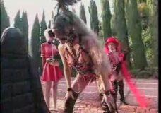Imagen Chica disfrazada de caballo Juego de Rol BDSM Bizarro