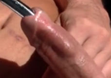 Imagen Escalofriante penetración de un tubo por la uretra del pene
