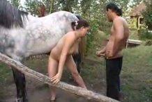 Sexo con el caballo