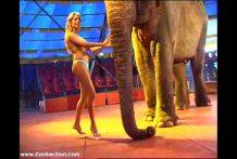 chica-desnuda-con-elefante miniatura