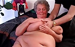 Una buena polla para esta abuela