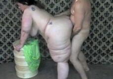 Imagen Una mujer con el culo muy gordo