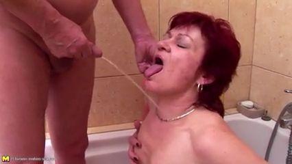 Abuela joven chico porno