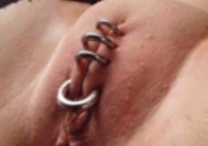 Imagen Coño cerrado con piercings