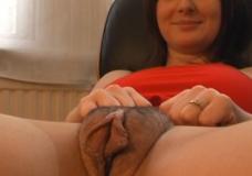 Imagen Asombrosa vagina gorda que tiene la madura