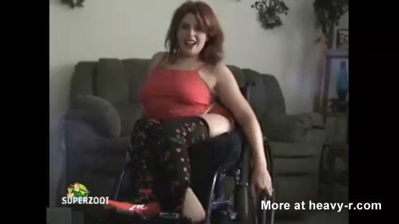 Mujer paralítica se desnuda por la webcam