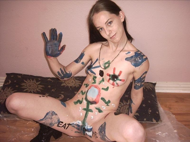 Chica Amateur bizarra