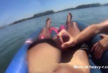 Unas vacaciones con mamadas