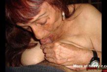 Abuelitas mayores y señoras caseras y amateur