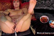 Dulce sexo anal con golosinas