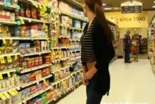 Flash en un supermercado