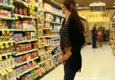 Imagen Flash en un supermercado