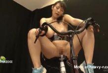 Orgasmo en bicicleta vibrador