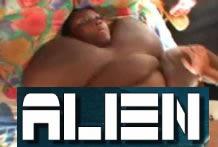 Follando a un alien negro