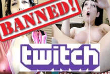 Chica gamer baneada en Twitch de por vida