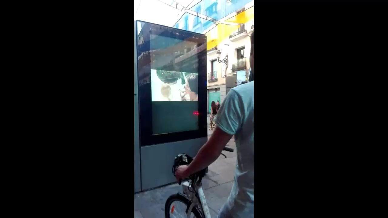 Una peli porno en las calles de Madrid