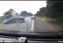 Accidentes mortales en coches, motos y camiones