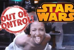 Las Pelís de Star Wars están fuera de control