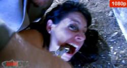 Exorcismo anal de Damaris en el cementerio con Terry Kemaco
