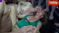 Sexy Abuelas Gangbang Obtienen MUCHO semen en su COÑO